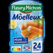 Fleury Michon Bâtonnets De Surimi Moelleux Fleury Michon, 24 Pièces 384g