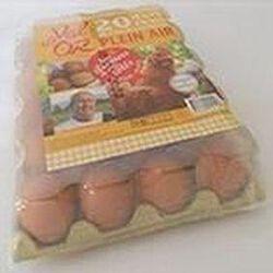 20 oeufs frais de poules plein air