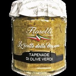 Tapenade d'Olives Vertes FLORELLI, 200g