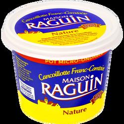 Cancoillotte nature lait pasteurisé 9,5% de matière grasse RAGUIN, potde 250g