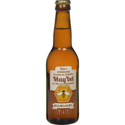 Bière may'bel au miel de chataigner BOURGANEL, bouteille de 33cl