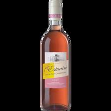 """Vin rosé de Pays Charentais """"estuaire"""", 75cl"""