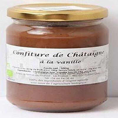 Confiture de châtaigne à la vanille Bio, 350g