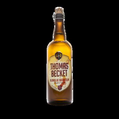 Bière blonde THOMAS BECKET 6.5°, bouteille de 75cl
