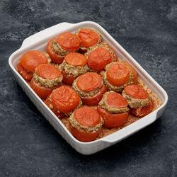 Tomates farcies au porc et riz cuit, 2 pièces, 500g