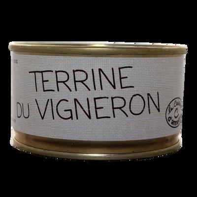 Terrine du vigneron LA CUISINE D'ANNETTE, 130g