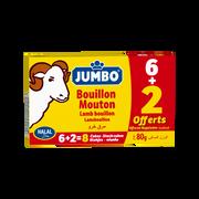 Jumbo Tablette Mouton Jumbo, 6+2 Offert, 80g