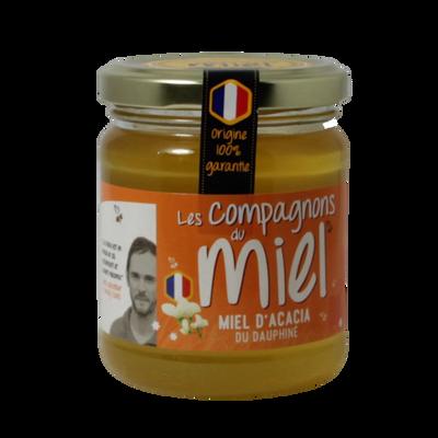 Miel d'acacia du Dauphiné COMPAGNONS DU MIEL, 250g