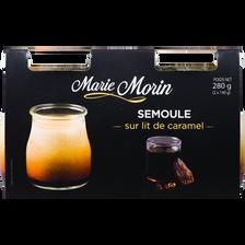 Semoule à l'ancienne sur lit de caramel, MARIE MORIN, 2x140g