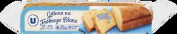 Barre pâtissière au fromage blanc U, 500g