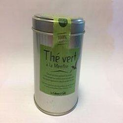 thé vert à la menthe LA CABANE A CAFE 100g