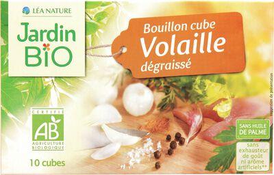 Bouillon cube Volaille dégraissé JARDINS BIO