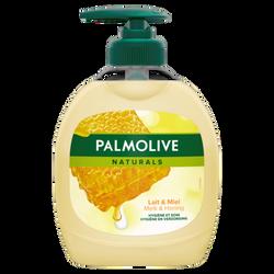 Savon liquide naturals lait & miel PALMOLIVE pompe 300ml