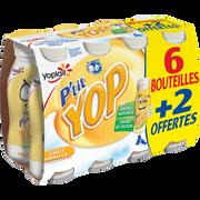Yoplait Yaourt À Boire Aromatisé À La Vanille P'tit Yop 6x180g+2 Off