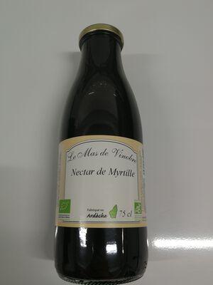 Nectar de Myrtille bio Le mas de Vinobre 75cl