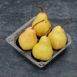 Poire Williams verte, BIO, calibre 60/70, catégorie 2, France, barquette 4 fruits