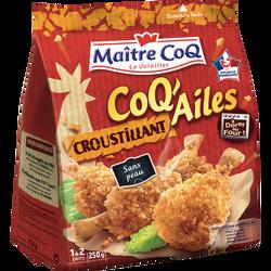 Coq'ailes croustillant, MAITRE COQ, sac, 250g