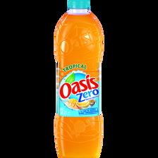 OASIS Tropical Zéro, bouteille de 2l