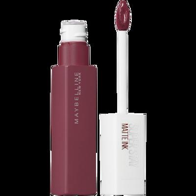 """Rouge à lèvres liquide  """"Superstay matte ink"""" n°80 ruler - blister MAYBELLINE"""