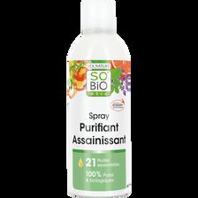 Spray purifiant assainissant aux 21 huiles essentielles Bio LEA NATURE, flacon 300 ml