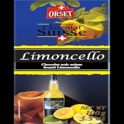 Tablette chocolat noir limoncello ORSET, 100g
