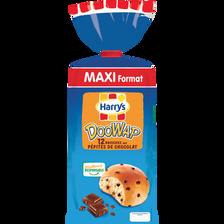 Doowap Doowy aux pépites de chocolat HARRY'S, 12 unités