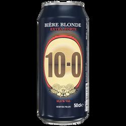Bière blonde extra forte 10° U boîte 50cl