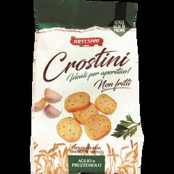 Crostini ail&basilic ARTESANI,100g