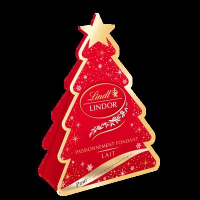 Chocolat sapin lindor LINDT, 37g