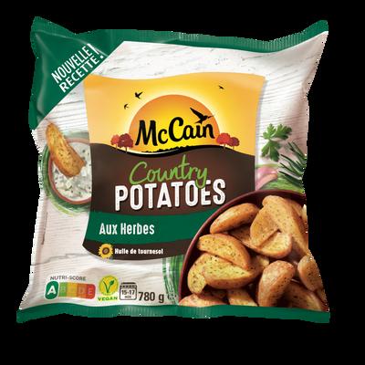 Country potatoes MC CAIN, sachet de 780g