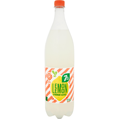 SEVEN UP Lemon Agrumes, bouteille de 1,25l