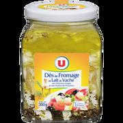 Soleil Fromage Pasteurisé Lait De Vache Dés Aromatisés 21%mg U Bocal 300g