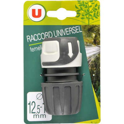 Raccord universel femelle U, 12/15mm 16/19mm, soft touch