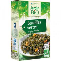 Lentilles vertes origine Vendée JARDIN BIO 400g