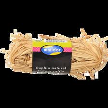 Raphia naturel MAILDOR, pelote de 50g