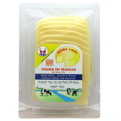Gouda light tranches TWIN BRAND, 160g