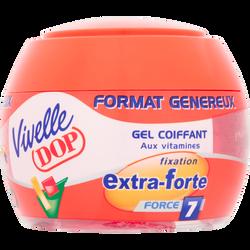 Gel coiffant fixation extra forte VIVELLE DOP, pot de 200ml