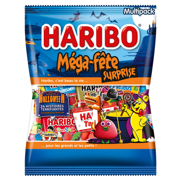 Haribo Mega Fête Surprise Halloween Haribo, 800g