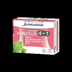 JUVAMINE ACTION MINCEUR 4 EN 1, 60 comprimés