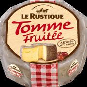 Le Rustique Tomme Fruitée Au Lait Pasteurisé 28% De Matière Grasse Le Rustique, 280g