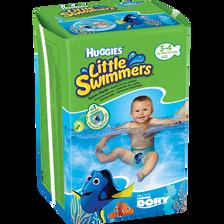 Culottes de bain Little Swimmers HUGGIES, taille 3/4, 7 à 12kg, x12