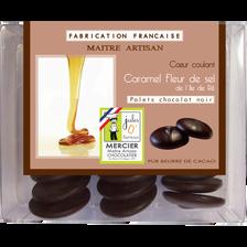 Palet chocolat noir caramel fleur de sel, JULES O FOURNEAUX, 150g