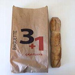 BAGUETTES MONTARNEENE 3+1 GRATUITE