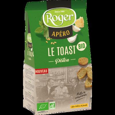 Toast pistou bio ROGER, 100g