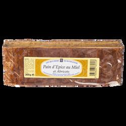 Pain d'épices à l'abricot tranché LES RUCHERS DE BOURGOGNE, 300g