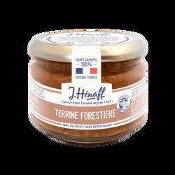 Terrine forestière HENAFF, bocal de 180g