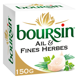 Fromage à tartiner BOURSIN Ail & Fines Herbes 150g