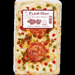 Flam'fine poivrons chorizo provolone, 180g