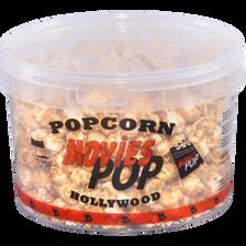 Pop Corn au caramel, seau 350g