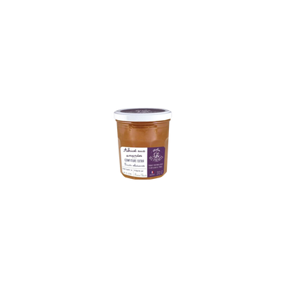 Confiture extra abricot amandes MATIN DES PYRENEES, 370g